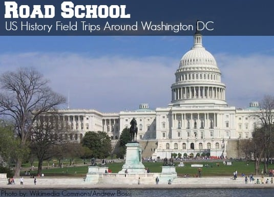 DC US History Field trips with kids