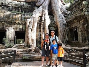 Educational Travel - Ta Phrom Cambodia