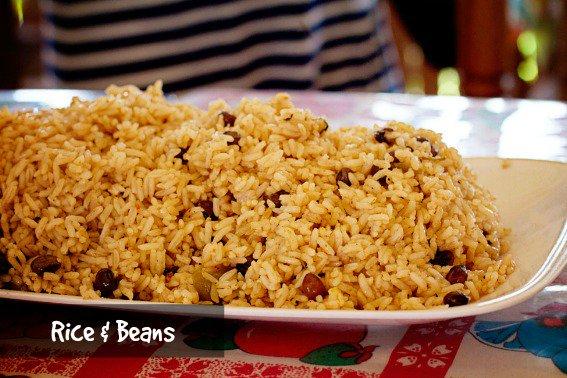 Punta-Cana-rice & beans