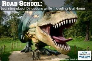 Road School Learning about Dinosaurs