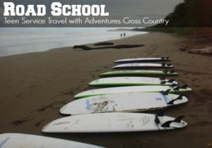 Road School Teen Service Travel