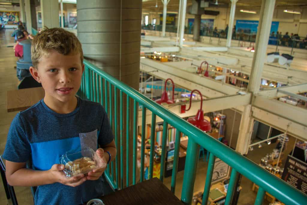 things to do in Columbus Ohio with kids include visiting the North Market