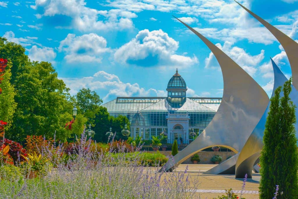 Fun Things to Do in Columbus Ohio with Kids Children's Garden Franklin Park Conservatory