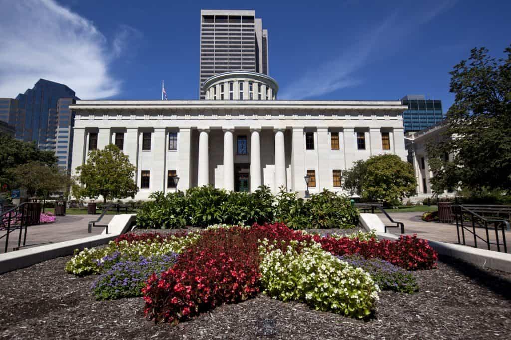 Ohio Statehouse in Columbus Ohio