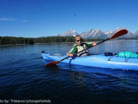 O.A.R.S. Without the Whitewater: Kayaking Jackson Lake WY