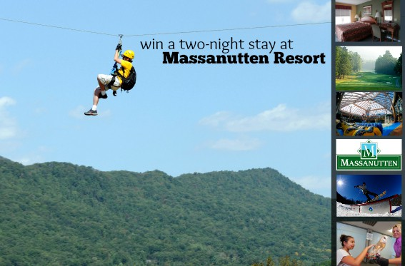 enter to win a trip to Massanutten Resort