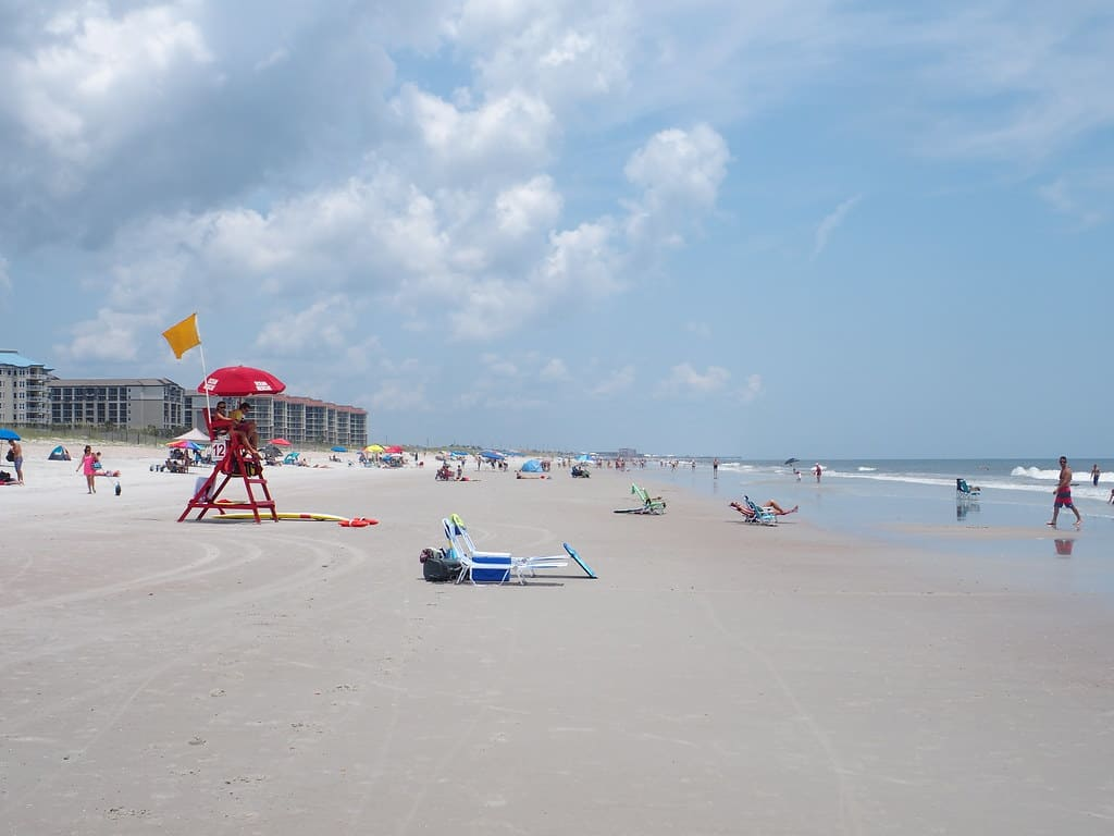 Amelia Island beach photo