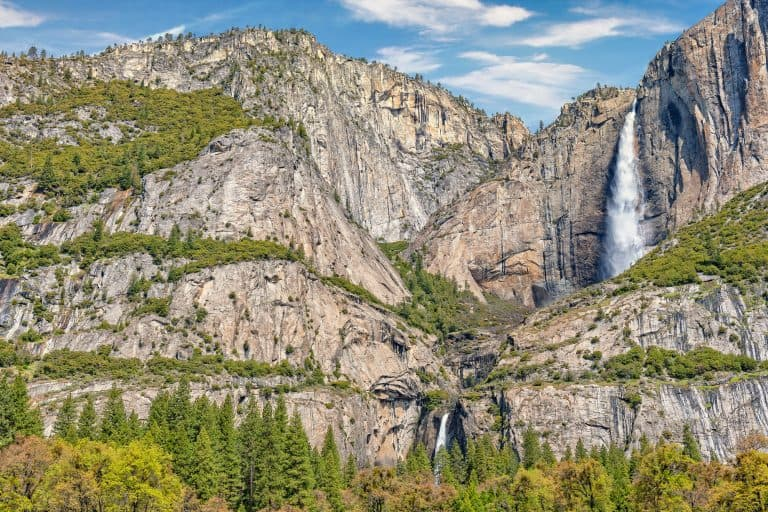 Yosemite falls is one of the best waterfalls in the US