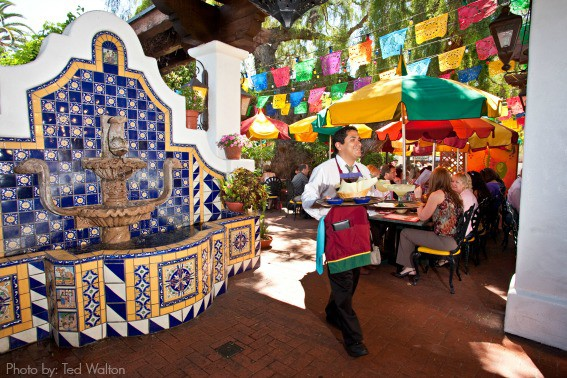 Casa Guadalajara Waiter -Courtesy Ted Walton