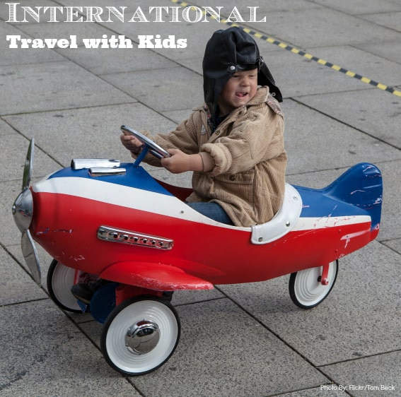 Kids international travel