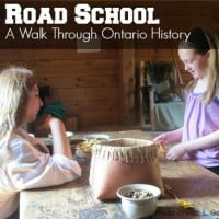 Road School Ontario History with kids square