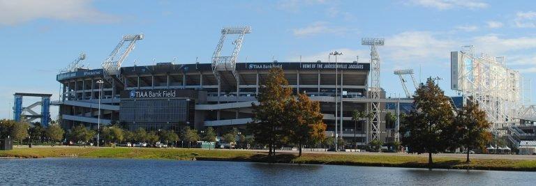 TIAA Field home to the Jacksonville Jaguars