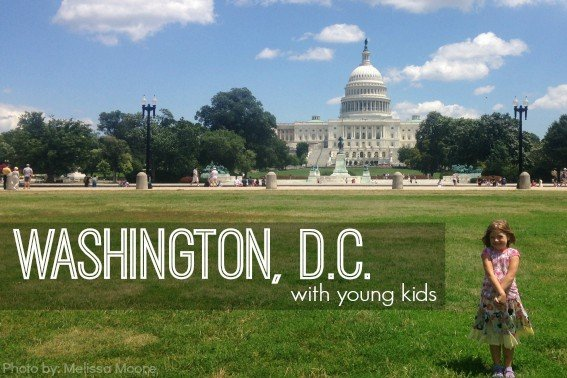 Washington DC with toddlers and young kids 567x378