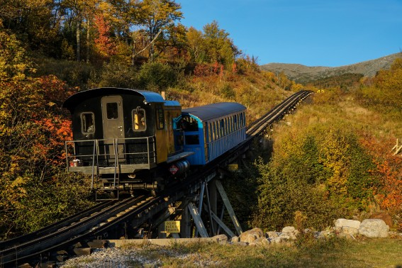 Mount Washington Cog railway Photo by Flickr alan48