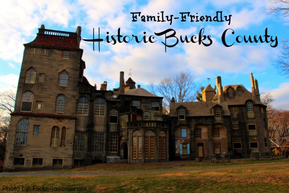 Bucks County fonthill castle Photo by: flickr/jasonlsraia