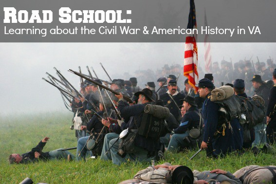 Learning about the Civil War history in Virignia