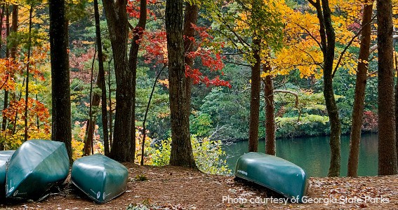 best places to view fall colors in Georgia State Parks