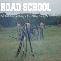 Road school civil war, prince william, VA