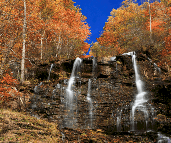 Places To Visit In The Fall In Usa: 5 Best Places To View Fall Colors In Georgia