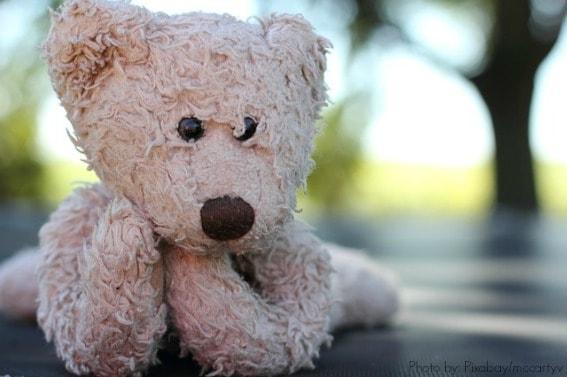 teddy bear loveys