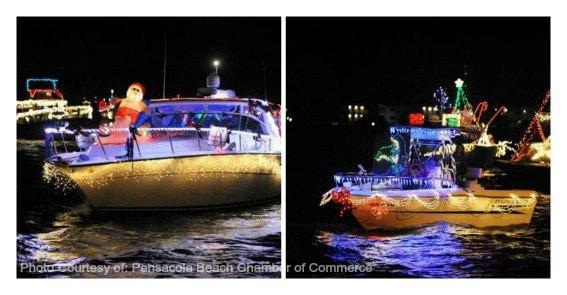 Christmas Boat Parade Pensacola