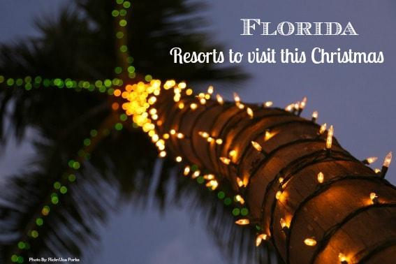 Kid friendly Florida resorts at xmas