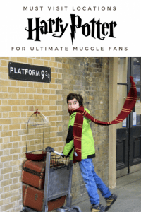 Harry potter locations for the ultimate muggle fans