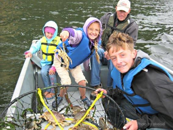 Oregon Crabbing