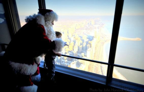 santa in Chicago