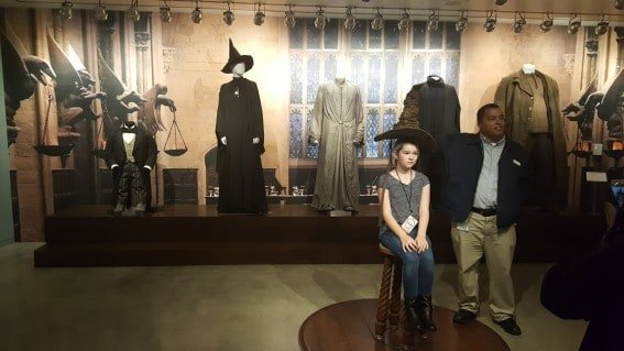 the sorting hat at warner bros. studios hollywood