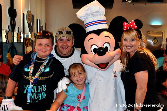 Chef Mickey Dining at Disney World