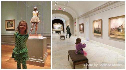Degas Ballerina Landscape Art Museum