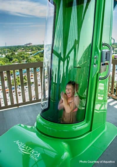 Top Orlando attractions: Breakaway Falls Drop at Aquatica Orlando