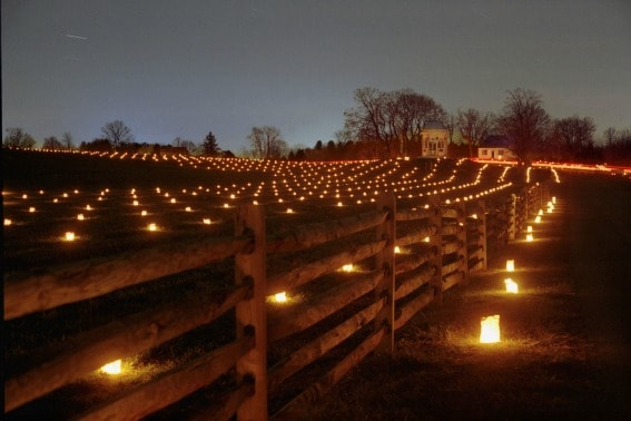 Illumination at Antietam Washington County Maryland