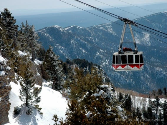 Sandia-Peak-Tram-Albuquerque-New-Mexico-Snow-Trekaroo