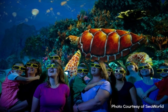 Top Orlando attractions: TurtleTrek at SeaWorld Orlando