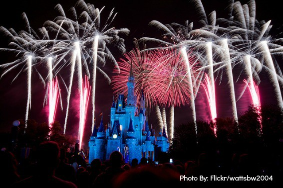 Top Orlando attractions: Walt Disney World Fireworks