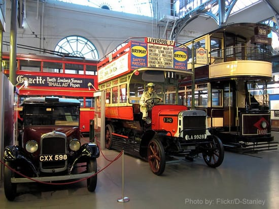 Free things to do in London: the London Transport Museum