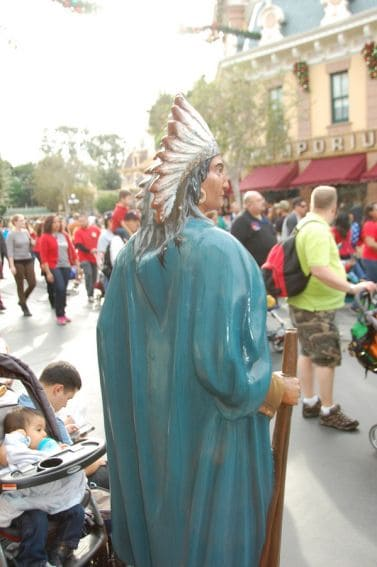Main Street Indian Disneyland