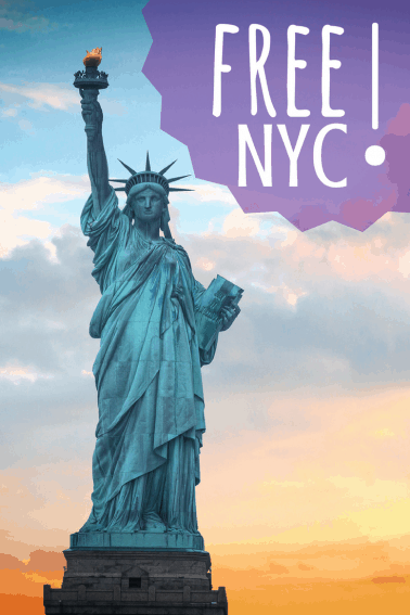 Who says you need a high-roller budget to visit New York City? Click through to see the best FREE things you can do with your family in NYC.
