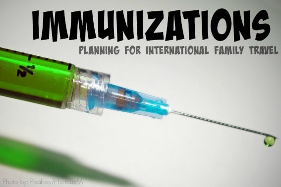 Immunizations and family travel