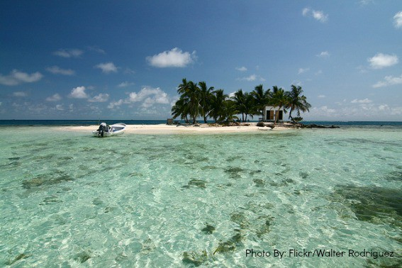 Beaches of Silk Caye Belize