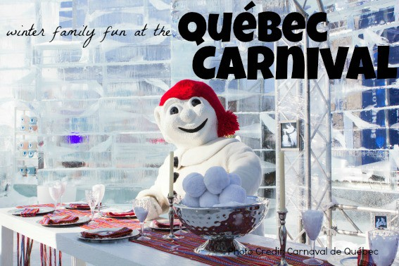 Winter family fun at the Quebec Carnival