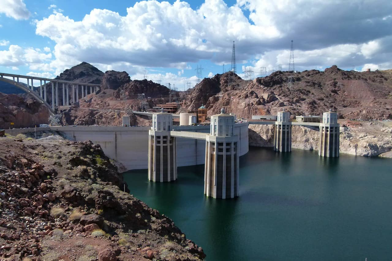 Hoover dam is great day trip from Las Vegas