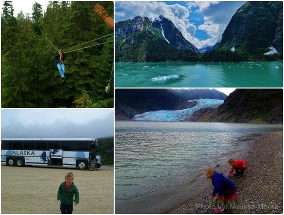 Alaska Mendenhall Glacier Tracy Arm Zipling