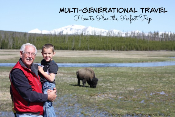 Multi-generational travel planning