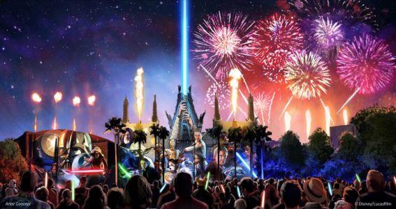 Disney Star Wars Galactic Spectacular