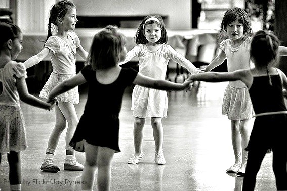 Exploring Music with Kids - Dancing Girls