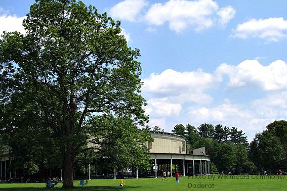 Exploring Music with Kids -Tanglewood Music Shed and Lawn