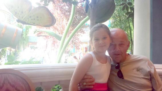 Las Vegas with grandparents